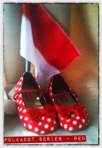 Polkadot Series - Red
