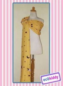 Ecokiddy Baby Sling Yellow Star
