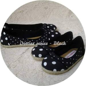 Polkadot Flats Rp. 180,000 - girl's shoes Rp. 200,000 - mom's shoes