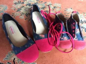 Flower Jeans Size 39 dan size 25  Rp. 200,000 mom Rp. 255,000 girl