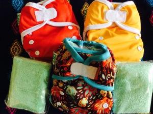 Paket Hemat popok kain newborn