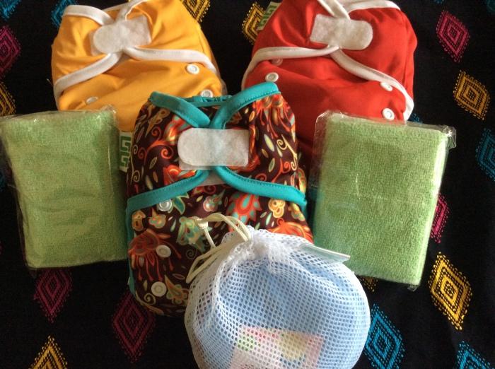 Paket Hemat Popok Kain dan Breastpad
