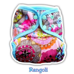 3. Clodi Ecobum Snap PUL Rangoli - Motif Unisex