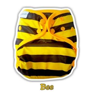 7. Cover Universal Clodi Ecobum Bee- Motif Unisex