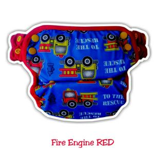 Ecobum pants Fire Engine Red