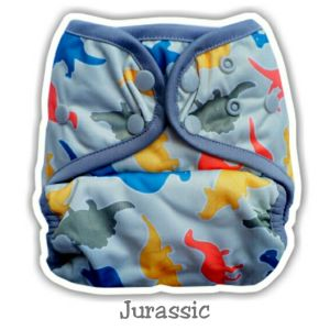 Ecobum Pocket Jurassic (PUL-Snap) Fits 3-15kg
