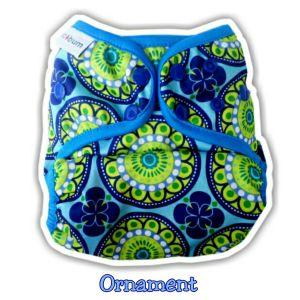 Ecobum Universal Cover Prefold Ornament (3-16kg) Rp. 85,000