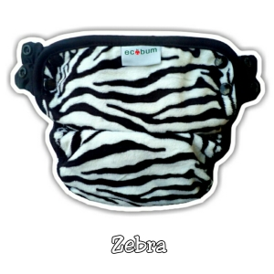 Ecobum Pant Zebra MINKY (New)