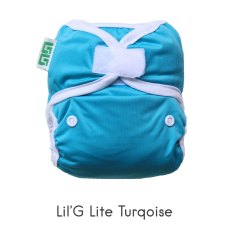 Lil-G Lite Turquoise/Tosca Rp. 69000 (1 outer dan 2 insert size S)
